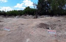 Clausuraron predio de 71 y 130 donde se descargaban residuos provenientes de La Plata